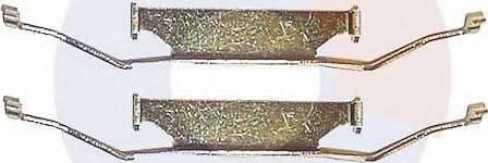 Carrab Brake Parts 2138 - Piederumu komplekts, Disku bremžu uzlikas autodraugiem.lv