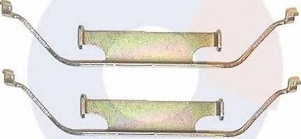 Carrab Brake Parts 2176 - Piederumu komplekts, Disku bremžu uzlikas autodraugiem.lv