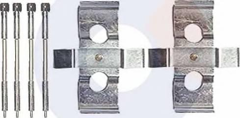 Carrab Brake Parts 2342 - Piederumu komplekts, Disku bremžu uzlikas autodraugiem.lv