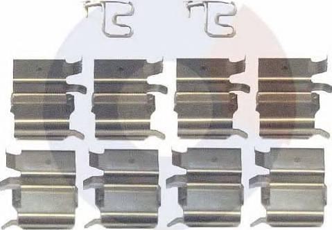 Carrab Brake Parts 2316 - Piederumu komplekts, Disku bremžu uzlikas autodraugiem.lv