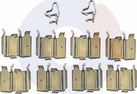 Carrab Brake Parts 2312 - Piederumu komplekts, Disku bremžu uzlikas autodraugiem.lv