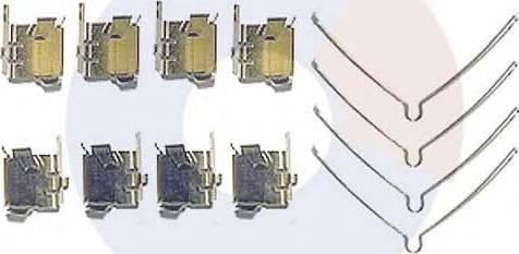 Carrab Brake Parts 2328 - Piederumu komplekts, Disku bremžu uzlikas autodraugiem.lv