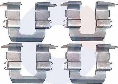 Carrab Brake Parts 2248 - Piederumu komplekts, Disku bremžu uzlikas autodraugiem.lv
