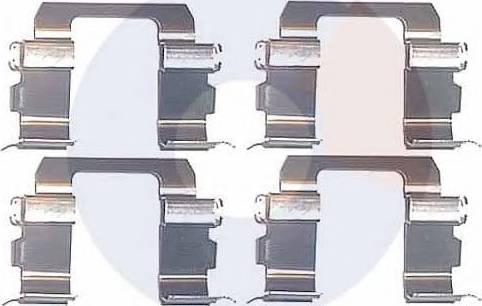 Carrab Brake Parts 2242 - Piederumu komplekts, Disku bremžu uzlikas autodraugiem.lv