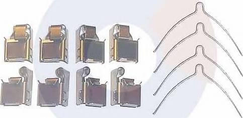 Carrab Brake Parts 2255 - Piederumu komplekts, Disku bremžu uzlikas autodraugiem.lv