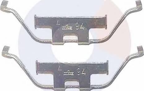 Carrab Brake Parts 2258 - Piederumu komplekts, Disku bremžu uzlikas autodraugiem.lv