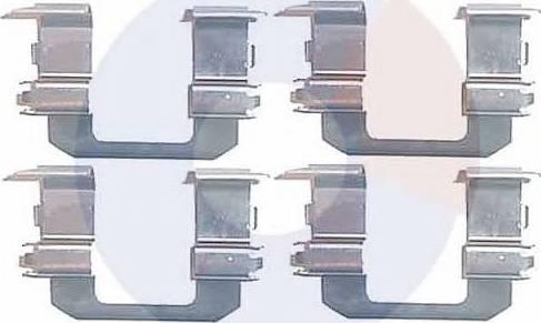 Carrab Brake Parts 2253 - Piederumu komplekts, Disku bremžu uzlikas autodraugiem.lv