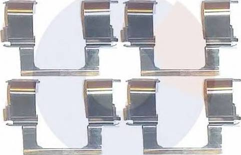 Carrab Brake Parts 2252 - Piederumu komplekts, Disku bremžu uzlikas autodraugiem.lv