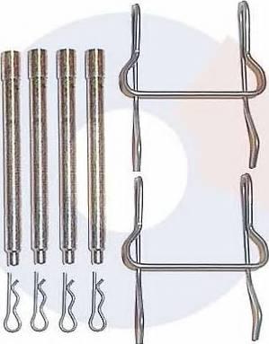 Carrab Brake Parts 2205 - Piederumu komplekts, Disku bremžu uzlikas autodraugiem.lv