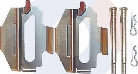 Carrab Brake Parts 2214 - Piederumu komplekts, Disku bremžu uzlikas autodraugiem.lv