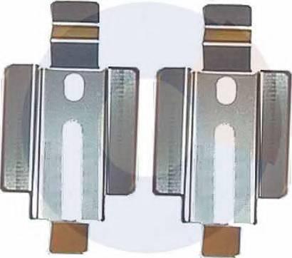Carrab Brake Parts 2218 - Piederumu komplekts, Disku bremžu uzlikas autodraugiem.lv