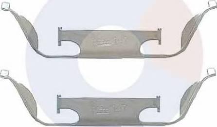 Carrab Brake Parts 2285 - Piederumu komplekts, Disku bremžu uzlikas autodraugiem.lv