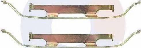 Carrab Brake Parts 2286 - Piederumu komplekts, Disku bremžu uzlikas autodraugiem.lv