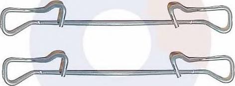 Carrab Brake Parts 2223 - Piederumu komplekts, Disku bremžu uzlikas autodraugiem.lv