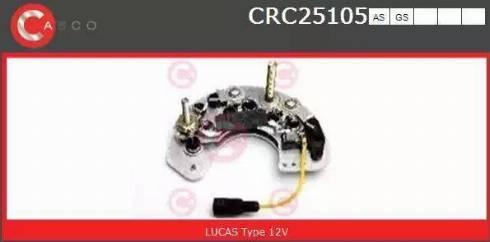 Casco CRC25105AS - Taisngriezis, Ģenerators autodraugiem.lv
