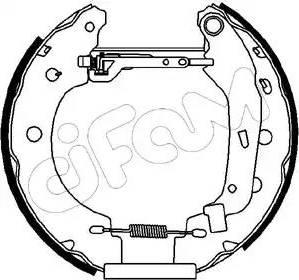 Cifam 151-097 - Bremžu komplekts, trumuļa bremzes autodraugiem.lv