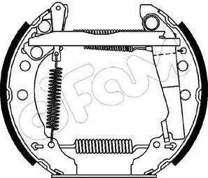 Cifam 151-045 - Bremžu komplekts, trumuļa bremzes autodraugiem.lv