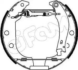 Cifam 151-005 - Bremžu komplekts, trumuļa bremzes autodraugiem.lv