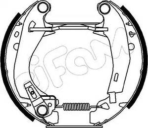 Cifam 151-006 - Bremžu komplekts, trumuļa bremzes autodraugiem.lv