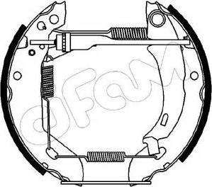 Cifam 151-039 - Bremžu komplekts, trumuļa bremzes autodraugiem.lv