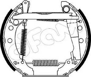 Cifam 151-028 - Bremžu komplekts, trumuļa bremzes autodraugiem.lv