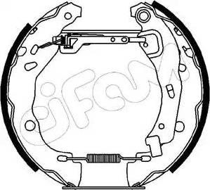 Cifam 151-155 - Bremžu komplekts, trumuļa bremzes autodraugiem.lv