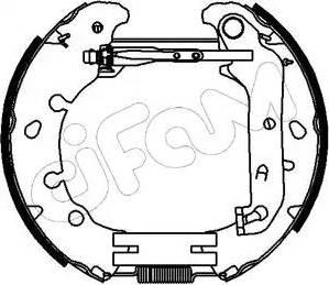 Cifam 151-153 - Bremžu komplekts, trumuļa bremzes autodraugiem.lv