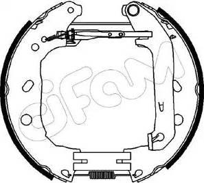 Cifam 151-230 - Bremžu komplekts, trumuļa bremzes autodraugiem.lv