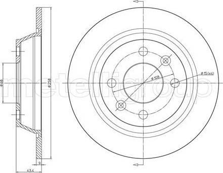Cifam 800-669 - Bremžu diski autodraugiem.lv