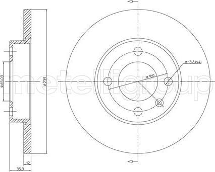 Cifam 800-053 - Bremžu diski autodraugiem.lv