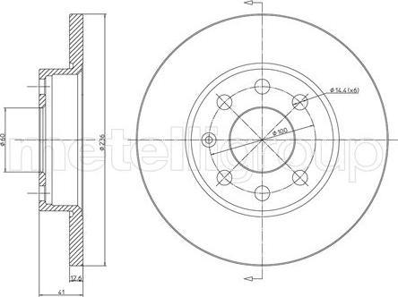 Cifam 800-080 - Bremžu diski autodraugiem.lv