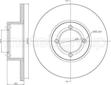 Cifam 800-022 - Bremžu diski autodraugiem.lv