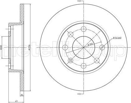 Cifam 800-071 - Bremžu diski autodraugiem.lv