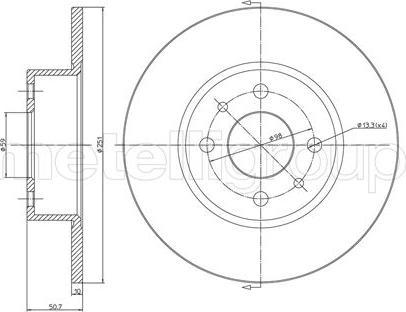 Cifam 800-193C - Bremžu diski autodraugiem.lv