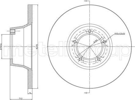 Cifam 800-162 - Bremžu diski autodraugiem.lv