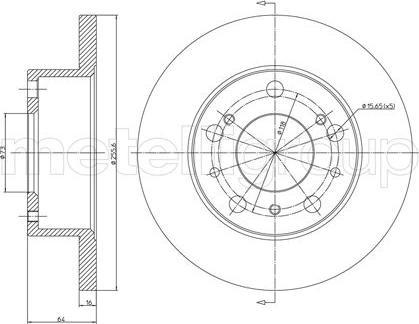 Cifam 800-134 - Bremžu diski autodraugiem.lv