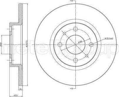 Cifam 800-179 - Bremžu diski autodraugiem.lv