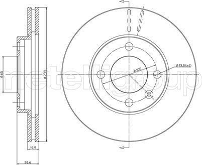 Cifam 800-170 - Bremžu diski autodraugiem.lv
