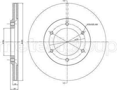 Cifam 800-247 - Bremžu diski autodraugiem.lv