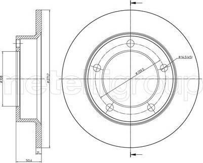 Cifam 800-206 - Bremžu diski autodraugiem.lv
