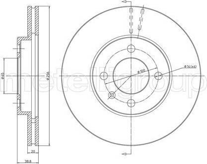 Cifam 800-230C - Bremžu diski autodraugiem.lv