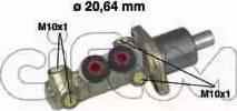 Cifam 202-059 - Galvenais bremžu cilindrs autodraugiem.lv