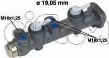 Cifam 202-063 - Galvenais bremžu cilindrs autodraugiem.lv