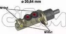 Cifam 202-039 - Galvenais bremžu cilindrs autodraugiem.lv