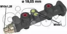 Cifam 202-029 - Galvenais bremžu cilindrs autodraugiem.lv