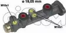Cifam 202-025 - Galvenais bremžu cilindrs autodraugiem.lv