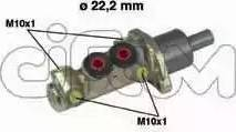 Cifam 202-196 - Galvenais bremžu cilindrs autodraugiem.lv