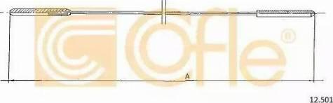 Cofle 12.501 - Sildītāja vārsta trose autodraugiem.lv