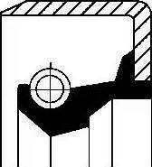 Corteco 01002914B - Vārpstas blīvgredzens, Palīgpievads autodraugiem.lv