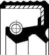 Corteco 01032060B - Vārpstas blīvgredzens, Izspiedējgultņa vārpsta autodraugiem.lv